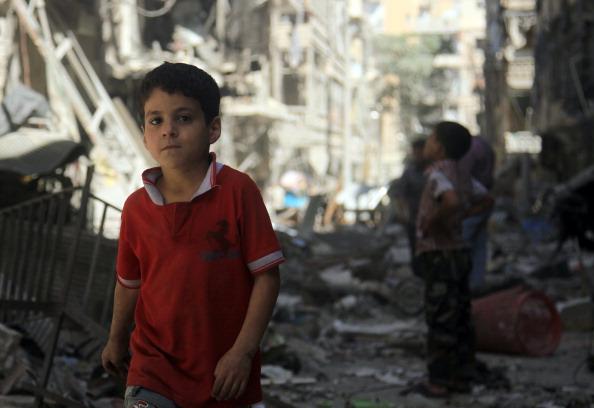 Seis años de guerra en Siria dejan más cinco millones de refugiados.(GettyImages/Archivo)