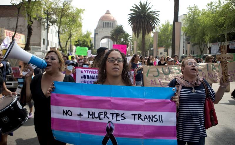 transfobia, marcha, comunidad trans, mexico