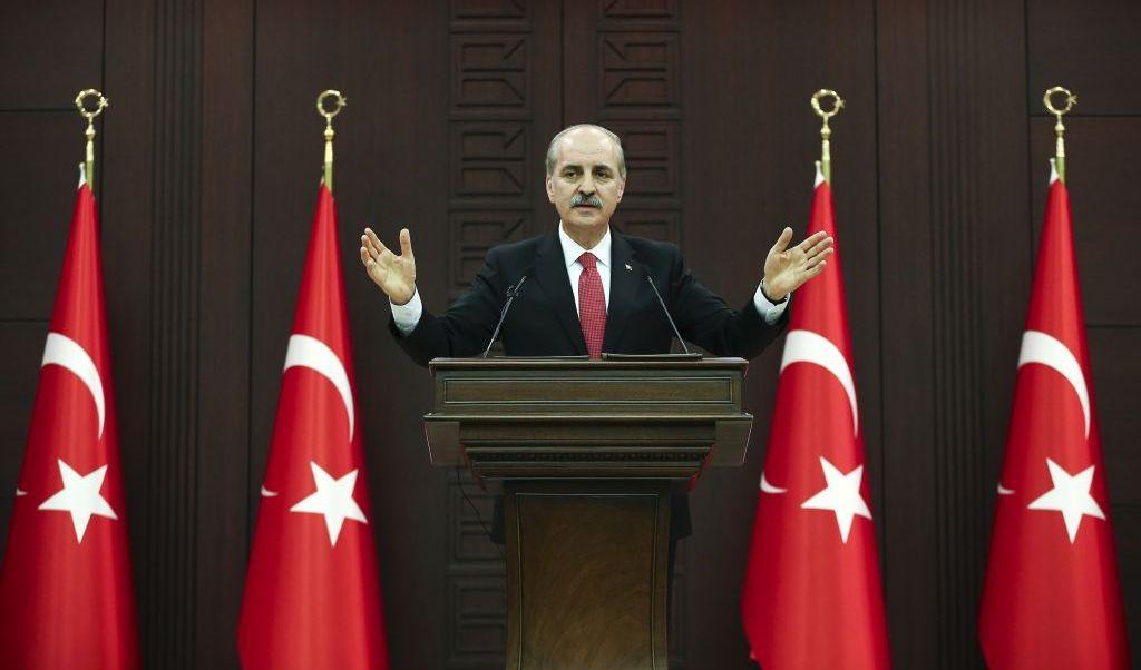 Numan Kurtulmus, primer ministro de Turquía.