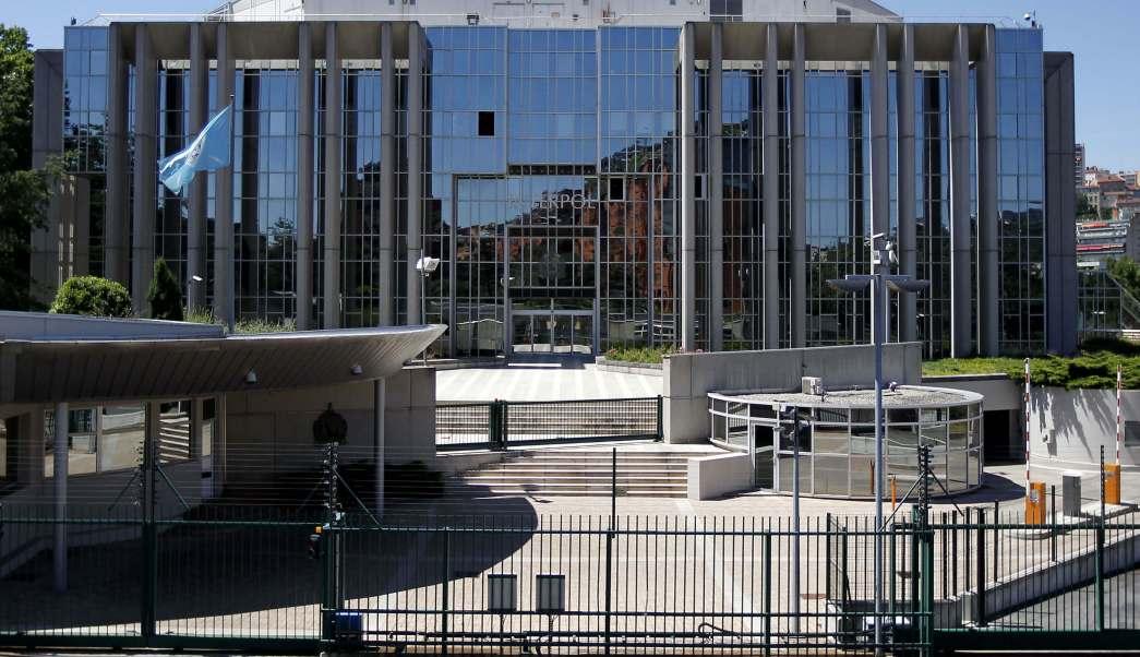 Oficinas centrales de INTEROPL en Francia (AP, archivo)