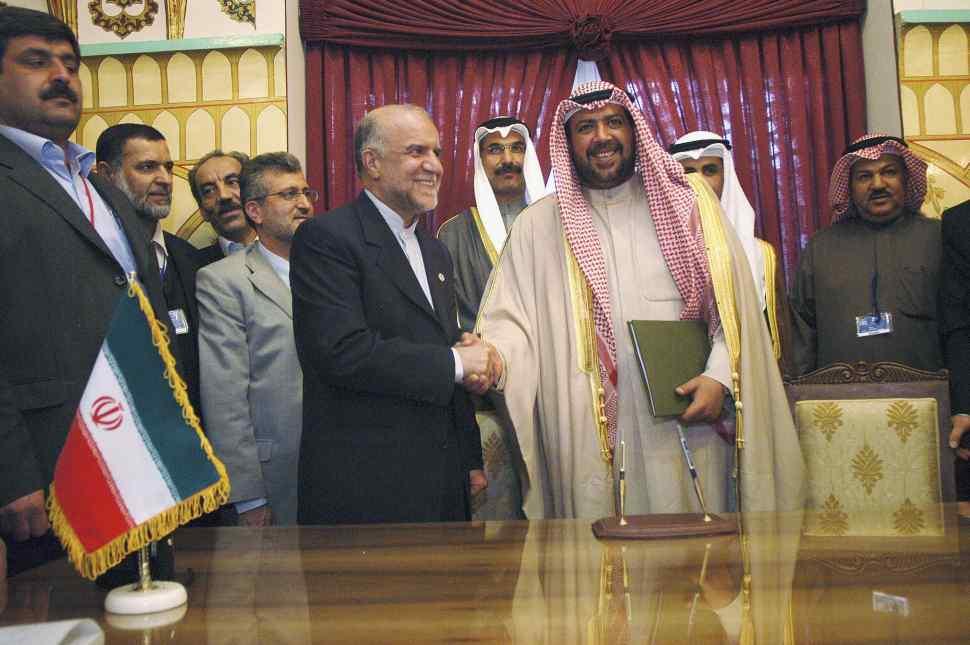 Miembros de la OPEP se reúnen. (Photo by Majid Saeedi/Getty Images)