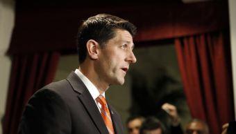 Paul Ryan, presidente de la Cámara de Representantes. (AP)