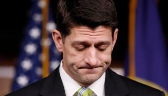 Paul Ryan, líder de la Cámara de Representantes y de los republicanos. (Reuters)