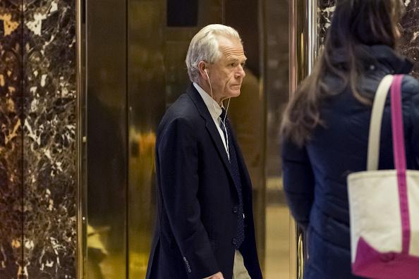 Peter Navarro, director del Consejo Nacional de Comercio del gobierno del presidente Donald Trump. (Getty Images, archivo)