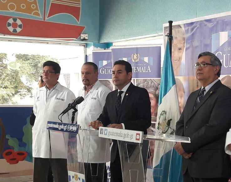 Presidente de Guatemala niega que incendio en centro estatal donde murieron 37 niñas sea un crimen de Estado. (Twitter @GuatemalaGob)