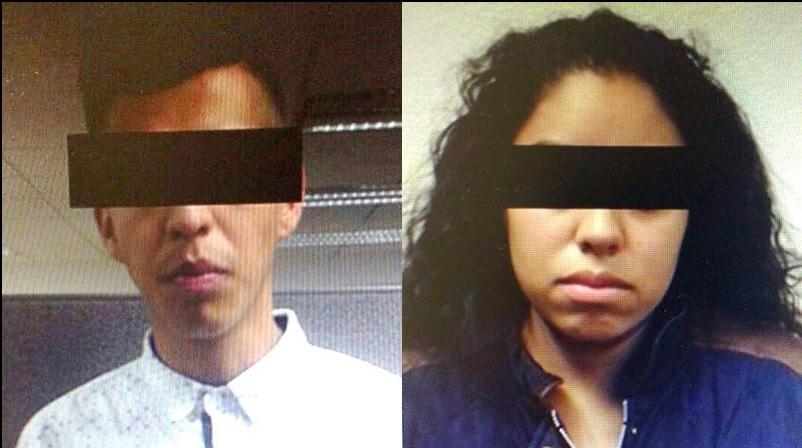 La PGJCDMX publica una imagen de los presuntos secuestradores que fueron interceptados en la camioneta de su víctima (Twitter @PGJDF_CDMX)