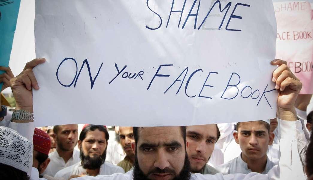 Protesta contra Facebook en Pakistán (AP, archivo)