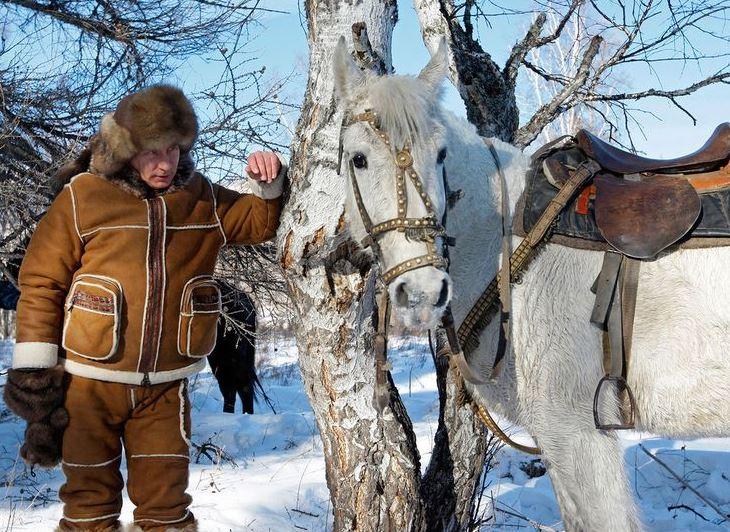 El presidente ruso, Vladimir Putin, decidió pasar un par de días de asueto en los bosques siberianos. (@baisalov/archivo)