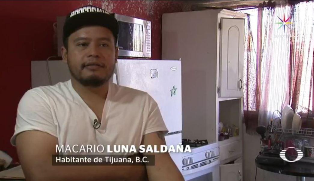 Autoridades migratorias de Estados Unidos vincularon a Macario Luna con una panadería en California, donde supuestamente trabaja y le retiraron su visa. (Noticieros Televisa)