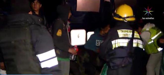 Rescate de excursionistas en el Ajusco (Noticieros Televisa)