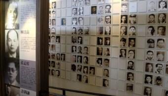 Retratos de las víctimas del 'incidente 228'.