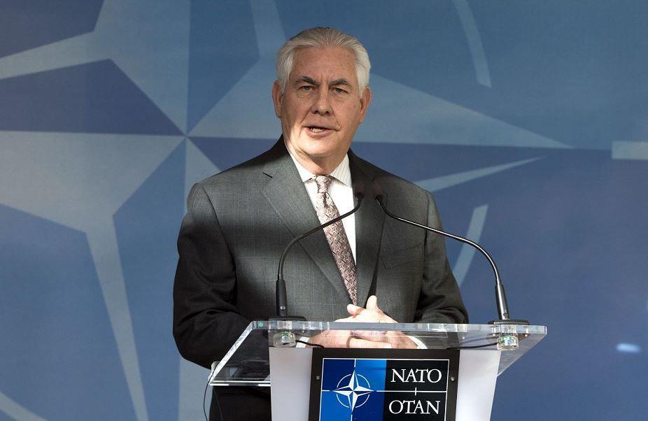Rex Tillerson, secretario de Estado de Estados Unidos. (AP)