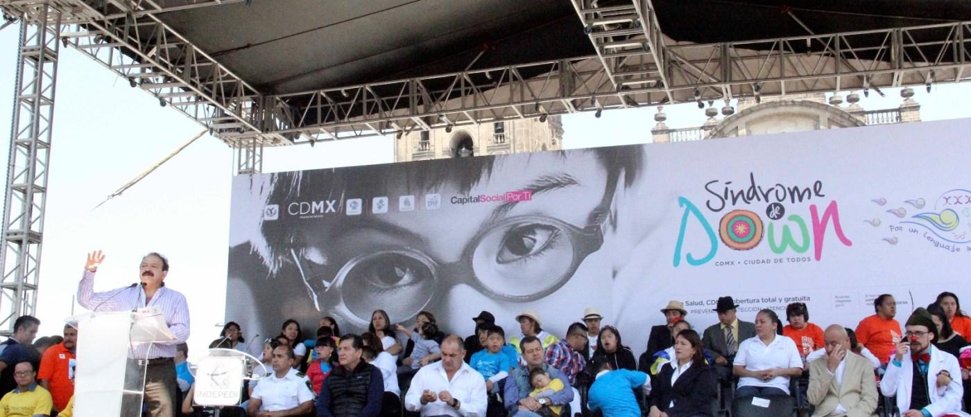 Ciudad de México tendrá clínica para pacientes con síndrome de Down