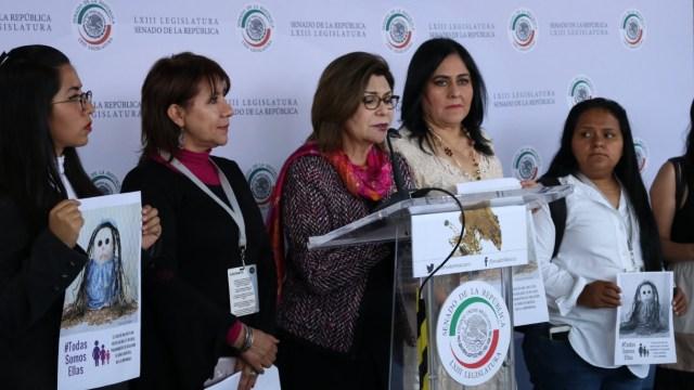 Senadores presentan el caso de 'Ana', una mujer indígena que nació y vive en Chiapas, padece síndrome de Down y fue abusada sexualmente.