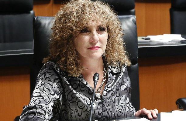 """La senadora Berastein advirtió que no van a permitir un """"manotazo en la mesa"""" para nombrar a un nuevo coordinador (Twitter/@LuzMaBeristain/Archivo)"""