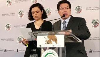 Mario Delgado, senador por Morena