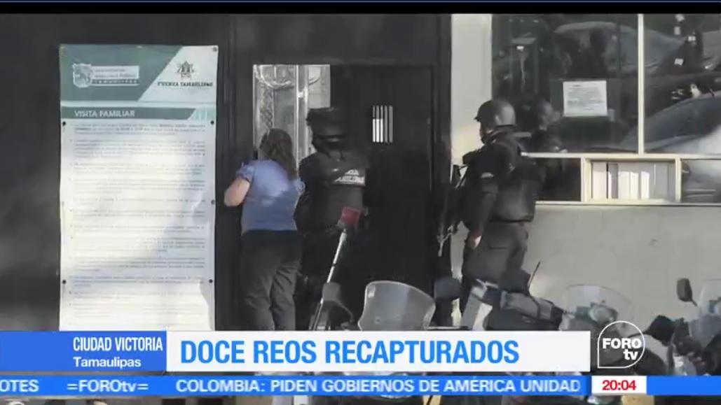 La tarde de este jueves se reportó una situación de riesgo al interior del penal de Cd. Victoria, Tamaulipas. (FOROtv)
