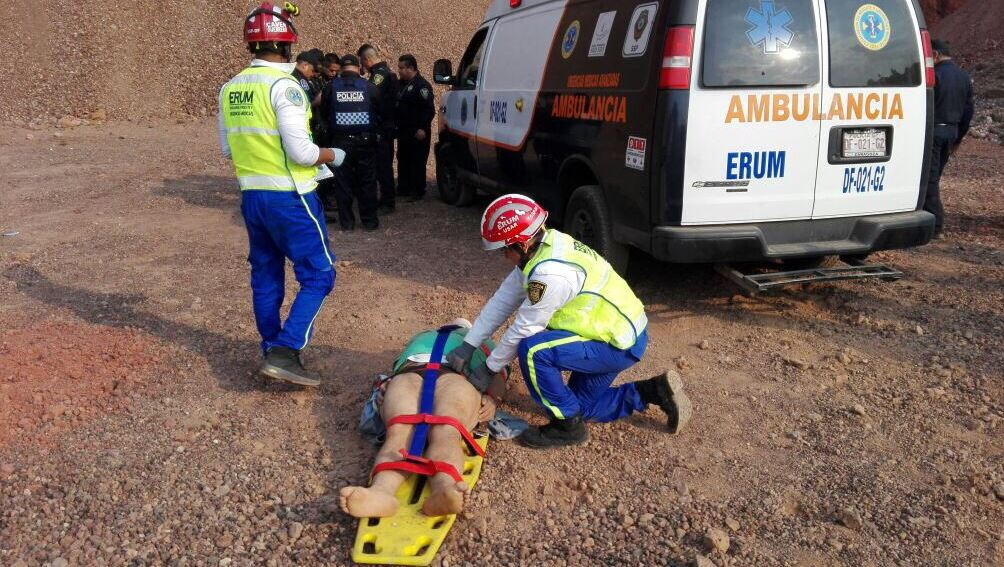 Todos los lesionados se reportan delicados pero estables (Twitter/@SSP_CDMX)