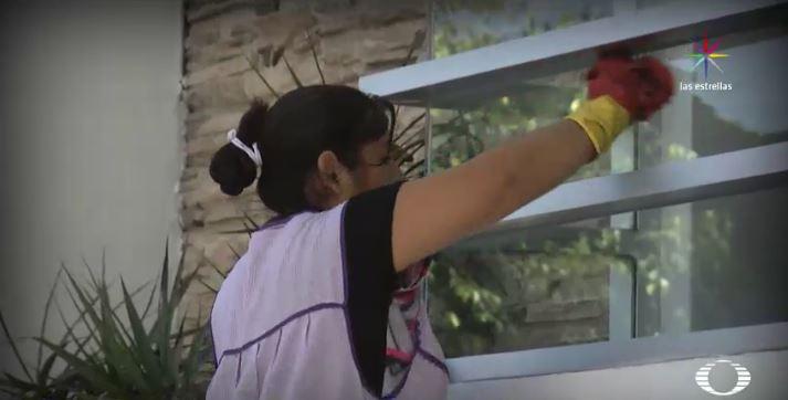 En agosto del 2015 se funda el primer Sindicato Nacional de Trabajadores y Trabajadoras del Hogar. (Noticieros Televisa)