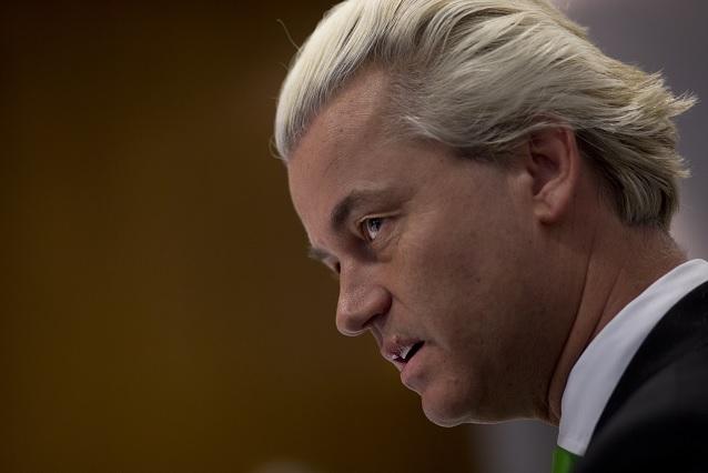 El líder de ultraderecha, Geert Wilders, es considerado 'el Donald Trump holandés' (AP)