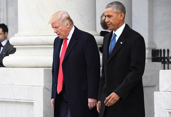 El presidente Trump acusó a su predecesor, Barack Obama, de grabar las conversaciones telefónicas en la Trump Tower (Getty Images/Archivo)