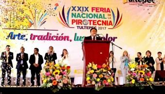 La Feria Nacional de Pirotecnia continuará hasta el 11 de marzo (Foto: @etultepec)