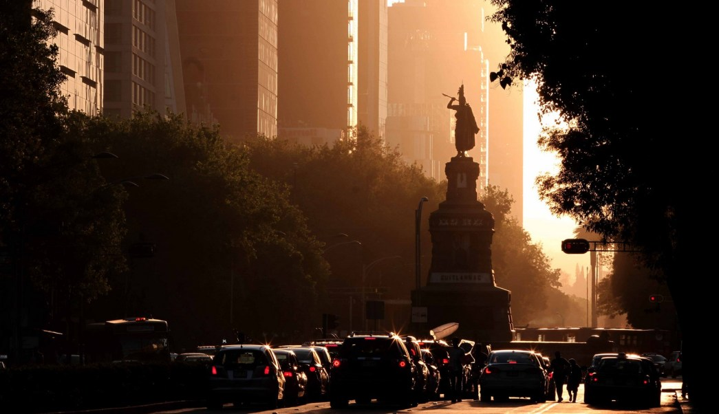 Panorámica de la Ciudad de México; prevén una temperatura máxima de 30 grados centígrados. (Notimex)