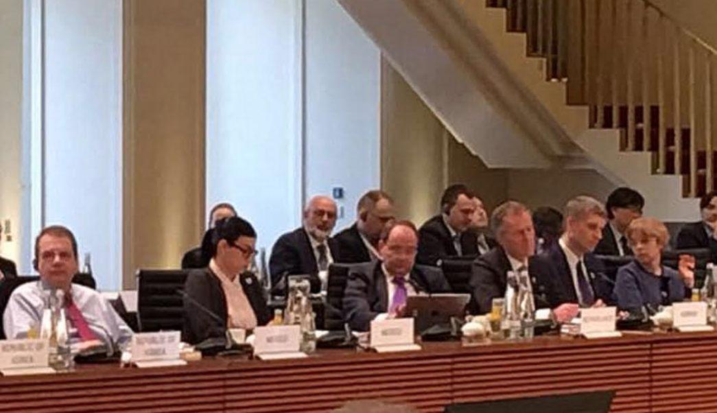 La subsecretaria de Hacienda y Crédito Público participó en la Reunión de Alternos de Ministros de Finanzas y Gobernadores de Bancos Centrales del G-20. (SHCP)