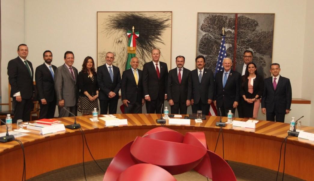 Los participantes destacaron la avanzada integración de la región Tijuana-San Diego. (Twitter: @SRE_mx)