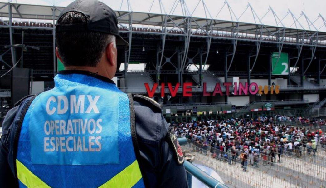 En el operativo de vigilancia participan más de 530 policías auxiliares (Twitter @SSP_CDMX)
