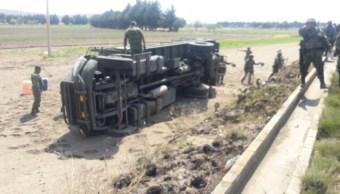 Los siete militares lesionados fueron trasladados a una clínica del municipio de Esperanza. (Twitter: @InformaPueblaMx)