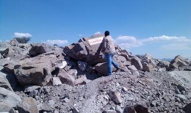 Clausuran la construcción de una bodega para almacenar maquinaria en el municipio de Sombrerete, Zacateca. (Profepa)