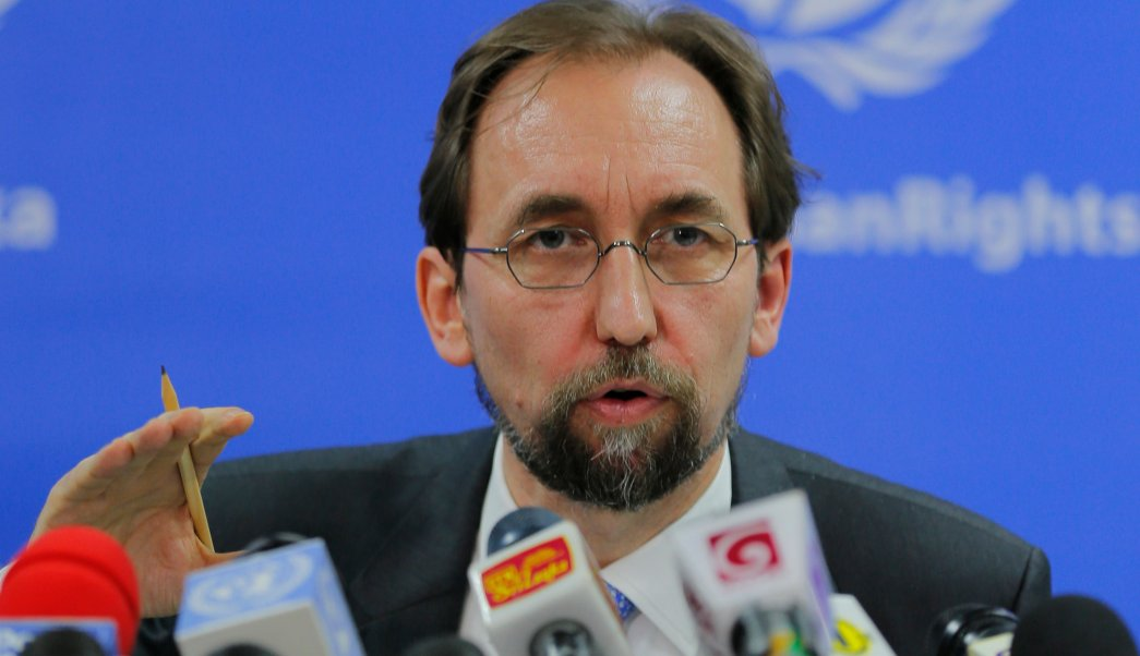 Zeid Ra'ad al Hussein habló en la presentación de su informe anual ante el Consejo de Derechos Humanos de la ONU. (AP, archivo)