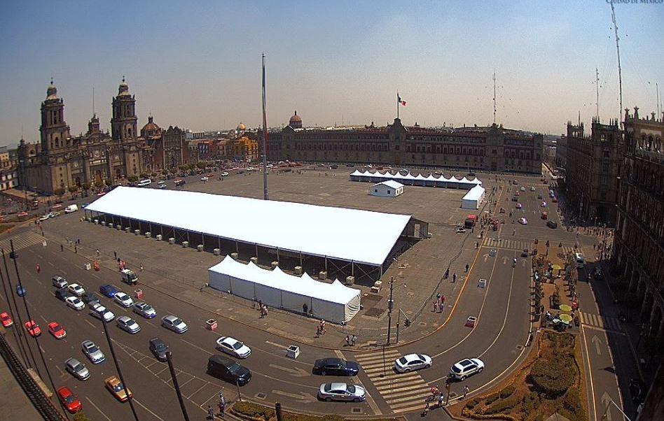 Esta semana iniciarán obras de rehabilitación en el Zócalo de la Ciudad de México