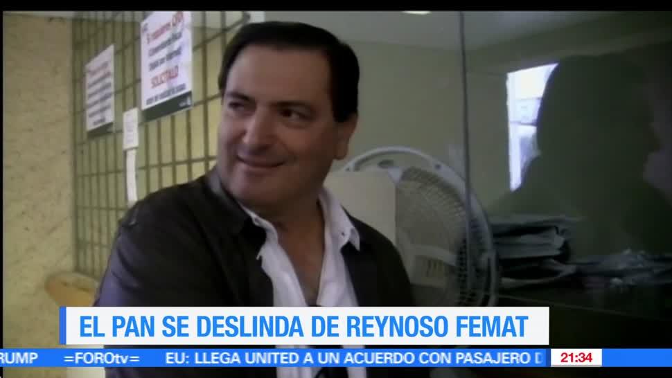 PAN, No reconoce, Militante, Luis Armando Reynoso Femat, Aguascalientes, Exogobernadores