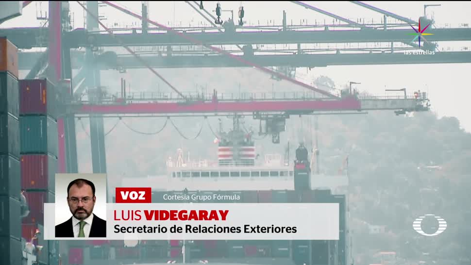 SRE, Luis Videgaray, Version de Mexico, Llamada, Trump, TLCAN