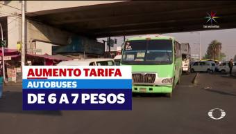 Microbuses, Tarifas transporte publico, Reciben, Capitalinos, Alza, Tarifas transporte