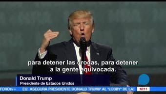 Trump, Asociación del Rifle, amigo, Casa Blanca, televisa news, noticias