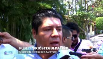 Robell Urióstegui, Alcalde de Teloloapan, Oaxaca, Huye, Amenazas de muerte, Guerrero,