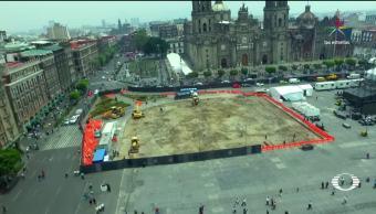 Historia, Remodelaciones, Cambios, Zócalo de la CDMX, Ciudad de méxico, Historia