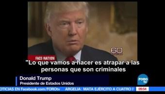 Donald Trump, estados unidos, Entrevistas, Trump