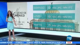 Las Noticias, Claudia Torres, Clima, Condiciones climatologicas, lluvias, Calor