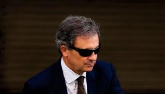 Jordi Pujol Ferrusola, hijo del ex líder catalán Jordi Pujol, abandona el Tribunal Nacional de España tras comparecer ante el juez Pablo Ruz el 15 de septiembre de 2014 en Madrid. (Getty Images)