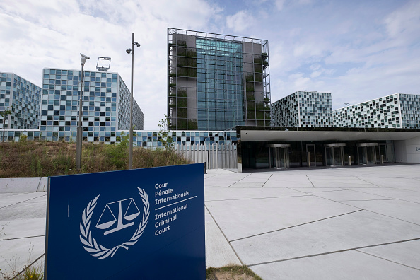 Vista exterior del nuevo edificio de la Corte Penal Internacional que se construye en La Haya. (Getty Images)