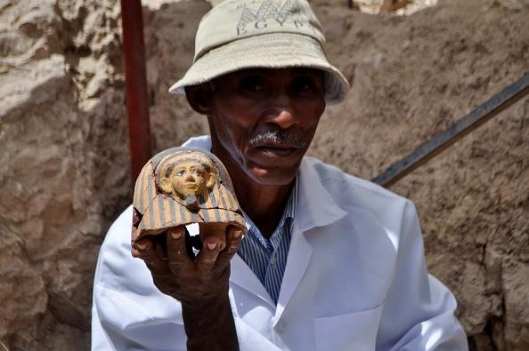 El mausoleo fue hallado en la zona de Dra Abu al Naga, ubicada en la orilla occidental del Nilo. (Getty Images)