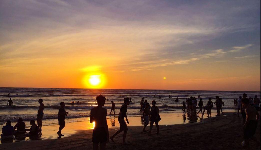 Acapulco, turistas, turismo, puente, guerrero, playa