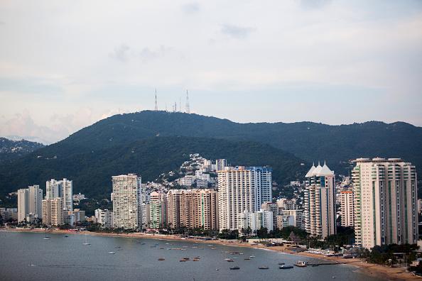 Las autoridades esperan que sitios turísticos como Acapulco alcancen el 100 por ciento de ocupación hotelera (Getty Images)