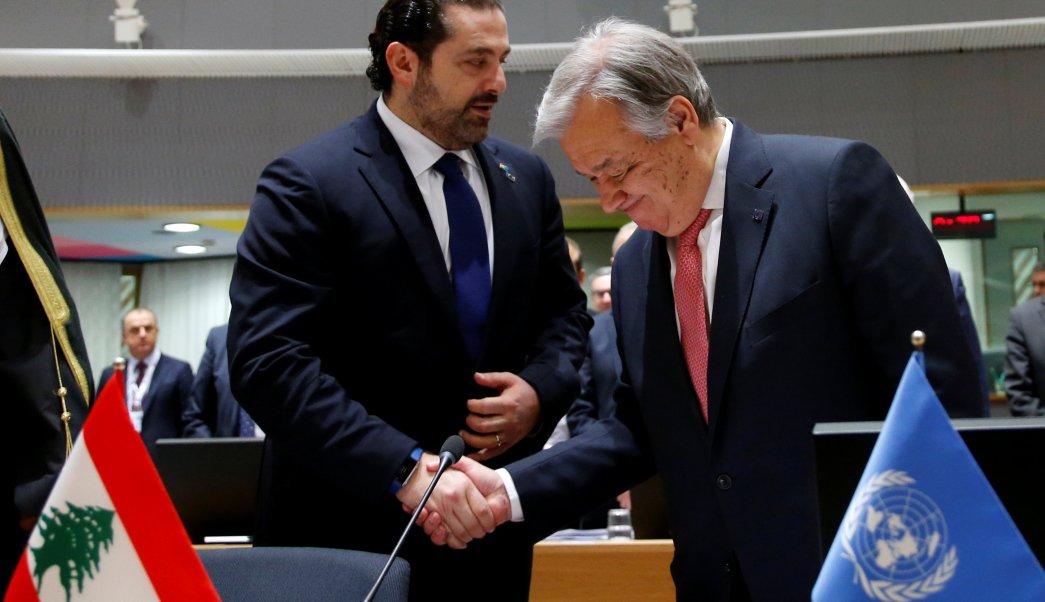 Antonio Guterres, secretario general de la ONU. (Reuters)