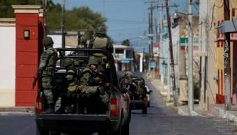 Operativos del Ejército en Tamaulipas. (AP, archivo)