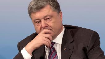 El presidente de Ucrania, Petro Poroshenko. (AP)